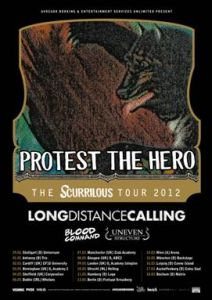 Long Distance Calling - Livepackage mit Protest The Hero.