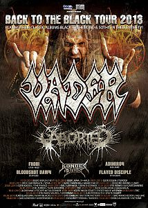 Vader - Europa Tour mit Aborted und Bonded By Blood.