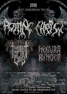 Rotting Christ - Europatour mit Twilight Of The Gods.