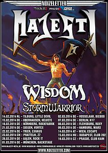 Majesty - Headliner-Tour und neues Album!