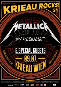 Metallica - Mit Alice In Chains, COB und Kvelertak in Wien!