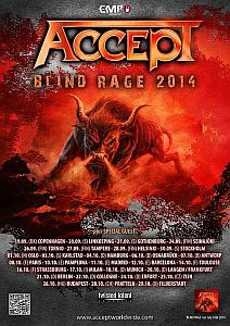Accept - Massenhaft 2014er Tourdates!