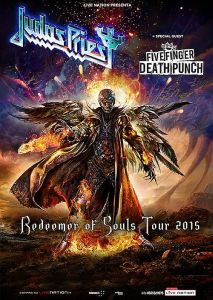 Judas Priest - 2015 Europa-dates mit Five Finger Death Punch.