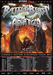 Battle Beast - Headlinertour mit Alpha Tiger im Herbst.