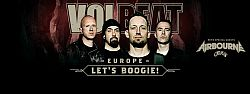 Volbeat - Im November mit Airbourne in Innsbruck