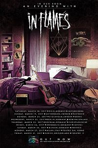 In Flames - Dates für intime Europa-Tour!!