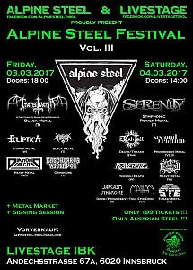 Darkscene - Serenity als Headliner am Alpine Steel.