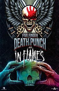 In Flames - Stadiontour mit Five Finger Death Punch.