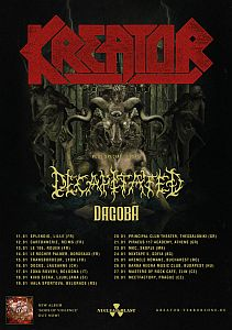 Kreator - Gods Of Violence European Tour 2018