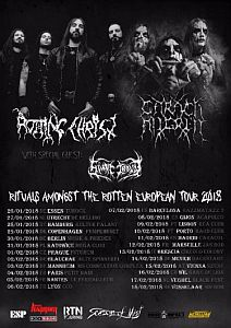 Rotting Christ - Europa Dates mit Wien-Show Anfang 2018