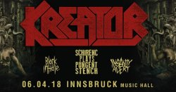 Kreator - Im April live in Innsbruck!