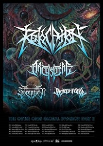 Revocation - Ultimate Technical Death Metal Tour