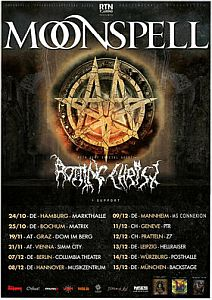 Moonspell - Fettes Tourpackage mit Rotting Christ