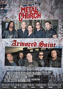 Armored Saint - Co-Headlinertour mit Metal Church