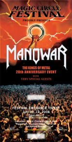 Manowar - Weitere Bands fürs Magic Cirlce Festival!