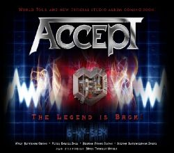 Accept - Neues Studio Video online.