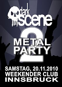 Darkscene - Darkscene Metal Party Volume 2! Be there!