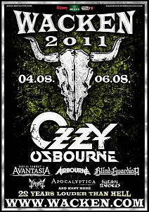 Ozzy Osbourne - Exklusiv in Wacken und am Sweden Rock!
